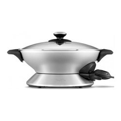 Breville Hot Wok Electric Stainless Steel Wok