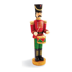 Animated Drummer Soldier - Frontgate - Outdoor Christmas Decorations