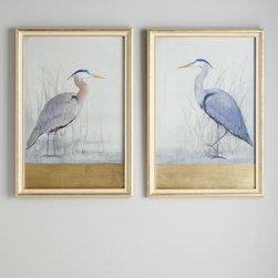 """""""Keeping Watch"""" Heron Prints -"""