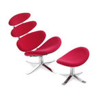 Petal Lounge Chair & Ottoman - Fun!