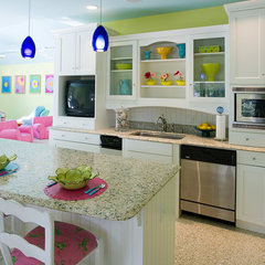 eclectic kitchen by J.Banks Design Group