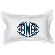 Contemporary Shams by Luxury Monograms