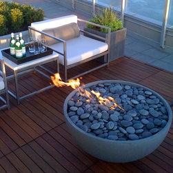 Modern Firepits -