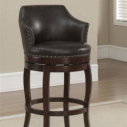 American Heritage Bailey Bar Height Stool Finished In