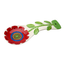 ATD - 9.25 Inch 1 Yellow and 1 Red Sun Flower Design Spoon Rest Set - This gorgeous 9.25 Inch 1 Yellow and 1 Red Sun Flower Design Spoon Rest Set has the finest details and highest quality you will find anywhere! 9.25 Inch 1 Yellow and 1 Red Sun Flower Design Spoon Rest Set is truly remarkable.