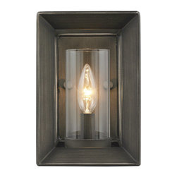 Golden Lighting - Golden Lighting 2073-1W Smyth 1 Light Wall Sconce - Features: