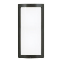 """Omni Medium Outdoor Wall light - The Omni Medium Outdoor Wall light has been designed and made by LBL lighting. This light is a small outdoor luminaire with aluminum housing in bronze or silver finish, die-cast end caps and opal glass cover. IP67 rated. This light can be mounted vertically or horizontally. Incandescent includes 2 x E26 medium base 60W or equivalent BT15 halogen lamp and fluorescent includes 1 x 2G11 base 24W twin tube CFL and electronic ballast. ADA compliant. 120 or 277v     .proddesc p{font-family: Verdana, sans-serif; font-size:8pt!important;}   .pdtable{font-family: Verdana, sans-serif; font-size:8pt!important;padding:10px;}    Product Details: The Omni Medium Outdoor Wall light has been designed and made by LBL lighting. This light is a small outdoor luminaire with aluminum housing in bronze or silver finish, die-cast end caps and opal glass cover. IP67 rated. This light can be mounted vertically or horizontally. Incandescent includes 2 x E26 medium base 60W or equivalent BT15 halogen lamp and fluorescent includes 1 x 2G11 base 24W twin tube CFL and electronic ballast. ADA compliant. 120 or 277v Details:                         Manufacturer:            LBL Lighting                            Designer:            LBL Lighting                            Made in:            USA                            Dimensions:            Height: Small 15.5"""" (39.4 cm)  X Diameter: 6"""" (15.2 cm)                            Light bulb:            Incandescent includes 2 x E26 medium base 60W or equivalent BT15 halogen lamp and fluorescent includes 1 x 2G11 base 24W twin tube CFL and electronic ballast                            Material:            Metal, glass"""