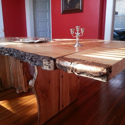 Live Edge Dining Table -