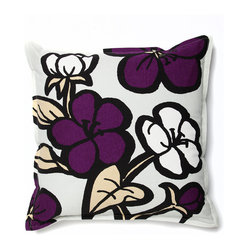 Cassie Outdoor Pillow - Bloom - Night