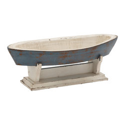 Surprisingly Different Wood Boat Bowl - Description: