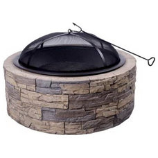 Traditional Firepits by ronshomeandhardware.com