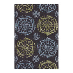Chandra Rugs - Hand-Tufted Contemporary Rug STA31601 - 5' x 7'6 - Hand-tufted Contemporary Rug - STA31601 - 5' x 7'6