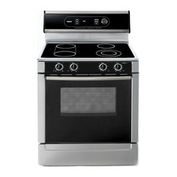 "Bosch 30"" Electric Freestanding Range, Stainless Steel 