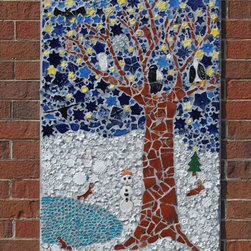 Winter panel - This is the Winter panel from our Four Seasons series.