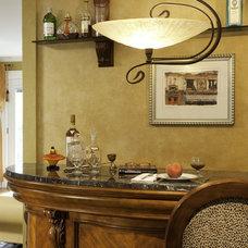 Modern Family Room by Marina Klima Goldberg - Klima Design Group