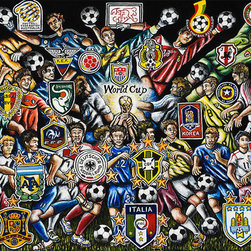 World Cup Soccer - World Cup Soccer Compilation - A compilation of World Cup Soccer players.
