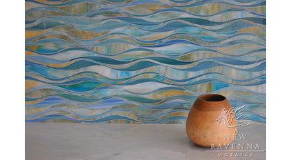 Eclectic Tile by Cabochon Surfaces & Fixtures