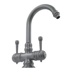 Whitehaus - Evolution Colonial Style Faucet (Polished Chr - Finish: Polished ChromeSingle hole. Dual lever handles. Gooseneck swivel spout. 5.5 in. L x 6.88 in. H (7 lbs.). Warranty