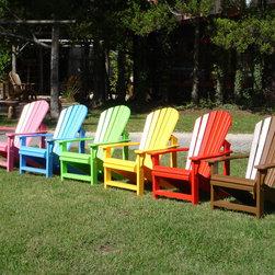 Adirondack - Western Red Cedar Adirondack chair painted