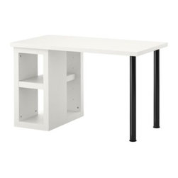 IKEA of Sweden/K Hagberg/M Hagberg - VIKA AMON/VIKA ANNEFORS Table - Table, white, black