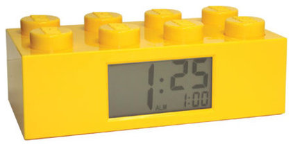 eclectic clocks by Fat Brain Toys
