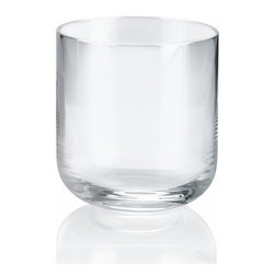 """Alessi - Alessi """"All-Time"""" Water Tumbler, Set of 4 - Water tumbler in crystalline glass."""