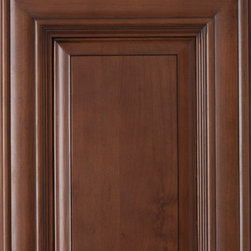 Bristol Coffee Cabinet Door Style - ProCraft Cabinetry produces professionally crafted cabinetry for an exceptional price. We ship our cabinets nationwide and can offer our customers free professional kitchen design and a free quote. Please call or email us for more information.