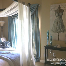 Contemporary Bedroom by Nikki Klugh Design Group