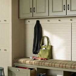 Boot Bench - Gerrit- Maple Celadon Painted