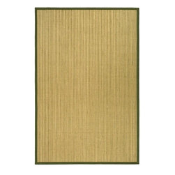 Safavieh - Safavieh Natural Fiber Casual Rug X-8-A244FN - Hand-woven with natural sea grass, this casual area rug is innately soft and durable. This densely woven rug will add a warm accent and feel to any home. The 100-percent Cotton canvas backing adds durability.