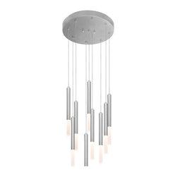 Sonneman Lighting - Sonneman Lighting 2219.16 Wands LED Modern / Contemporary Pendant Light - Comes with 10 ft adjustable cord.
