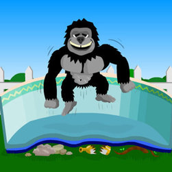 Blue Wave - Blue Wave Rectangular Gorilla Pad - 16 ft x 32 ft - Gorilla Floor Padding; Super Strong Floor Pad Protects Liners From Rocks, Roots, And Glass! Gorilla Pad; Makes Old Foam Floor Padding Obsolete. Unlike Foam, Which Can Be Easily Cut By Grass, Roots Or Rocks Under Your Liner, Gorilla Pad; Is Impervious To Almost Any Sharp Object. Gorilla Pad; Is A Geotextile That Was Developed To Protect Trash Dump Liners Where Any Cut Would Be A Catastrophe. Gorilla Pad; Is Super Tough, But Also Adds A Layer Of Cushioning That Will Eliminate Footprints From Forming. Gorilla Pad; Is Cut To Size And Seamed For Your Pool. No More Cutting And Taping As With Foam. Virtually Eliminate Vinyl Liner Bottom Leaks With Gorilla Pad;.