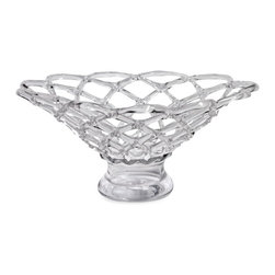IMAX CORPORATION - Large Glass Web Bowl - Beautiful and unique, the large glass web bowl is created by a glassblower in one fluid motion, there can be no hesitation during the process or he must begin again. Find home furnishings, decor, and accessories from Posh Urban Furnishings. Beautiful, stylish furniture and decor that will brighten your home instantly. Shop modern, traditional, vintage, and world designs.