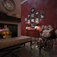 Home Theater by Jennifer Brouwer (Jennifer Brouwer Design Inc)