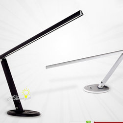 Adjustable Arm LED Table Lamp in Painted Finish -