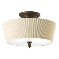 "Thomasville Lighting - Thomasville Lighting P2827-102 Meeting Street 14"" Two Light Semi-Flush Mount Cei - Features:"