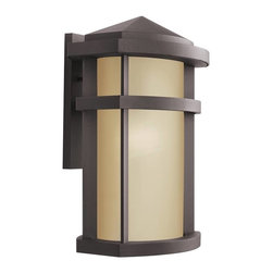 Kichler - Kichler Lantana Outdoor Wall Mount Light Fixture in Bronze - Shown in picture: Outdoor Wall Bracket 1Lt in Architectural Bronze