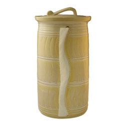 Paper Towel Holder - Glaze Color - Sea Salt Caramel