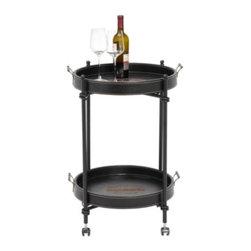 Z Gallerie Bordeaux Bar Cart Decorative Bar Cart Is