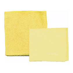 E-Cloth Bathroom Pack - Perfect for sinks  vanities  and more  the E-Cloth Bathroom pack traps and removes water  dirt  soap  mildew  and bacteria from any surface in your bathroom.  This 2 piece set includes (1) 12.5 x 12.5 inch bathroom cloth and (1) 16 x 20 inch glass & polishing cloth.  E-Cloth's bathroom pack allows for chemical free cleaning  and removes 99% of all bacteria from hard surfaces using only water.Product Features                        True chemical free cleaning - removes 99% of all bacteria from hard surfaces using only water            Money saving - no paper towels or harsh household chemicals to buy - simply clean with water            Healthier cleaning - no harmful chemicals            Cleans sinks  showers  vanities  tubs  faucets  mirrors  and more            Guaranteed for 300 machine washes