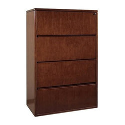What are the dimensions of this filing cabinet ? Does it come in black ...