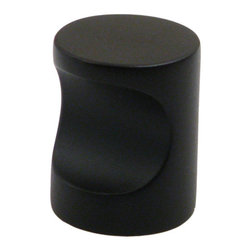 "Rusticware - 934 1"" Whistle Knob - Oil Rubbed Bronze - This Oil Rubbed Bronze cabinet knob is a versatile and stylish piece of hardware that will add to the decor of any room in your home. All Rusticware knobs and pulls come with standard 8/32"" screws and screws that are 1/2"" longer to fit most applications."