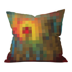 madart inc Glorious Colors Outdoor Throw Pillow - Do you hear that noise? It's your outdoor area begging for a facelift and what better way to turn up the chic than with our outdoor throw pillow collection? Made from water and mildew proof woven polyester, our indoor/outdoor throw pillow is the perfect way to add some vibrance and character to your boring outdoor furniture while giving the rain a run for its money.