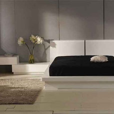 Contemporary Beds Prestige Modern Platform Bed By Vig Furniture