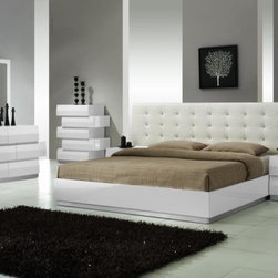 Go Modern Furniture - 100% ITALIAN LEATHER AND LACQUER