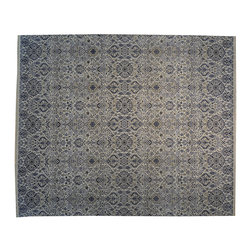 100% Cotton Agra 13'x15' Oversize Hand Knotted Oriental Rug SH16960 - Our Modern & Contemporary Rug Collections are directly imported out of India & China.  The designs range from, solid, striped, geometric, modern, and abstract.  The color schemes range from very soft to very vibrant.