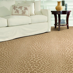 Dabbieri Collection - Take a walk on the wild side with Dabbieri Collection's Alambicco. Available in five colors this leopard inspired carpet makes a statement in any room.