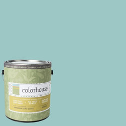Inspired Semi-Gloss Interior Paint, Dream .04, Gallon - Colorhouse paints are zero VOC, low-odor, Green Wise Gold certified and have superior coverage and durability. Our artist-crafted colors are designed to be easy backdrops for living. Colorhouse paints are 100% acrylic with no VOCs (volatile organic compounds), no toxic fumes/HAPs-free, no reproductive toxins, and no chemical solvents.