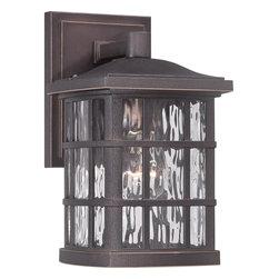 Quoizel Lighting - Quoizel Lighting SNN8406PN Stonington Outdoor Fixture - Outdoor wall plld brnz