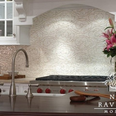 eclectic kitchen by New Ravenna Mosaics